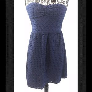 American Eagle Outfitters Strapless Mini Dress